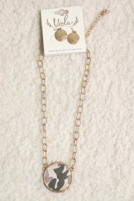 Hidden In Plain Sight Brown Camo Necklace