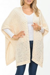 Definitely Been There Chenille Knit Cardigan - Multiple Colors - One Size 4-20