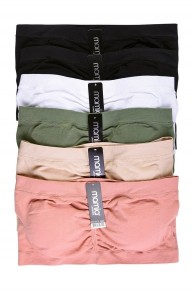 In Plain Sight Padded Bandeau in Multiple Colors-Sizes-4-20