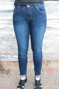 The Kelley Dark Denim Jeans - Sizes 1-15