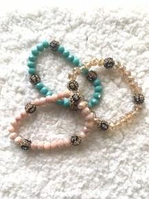 Crazy for Leopard Bracelet in Multiple Colors