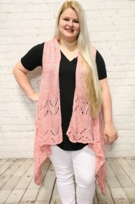 Happy Day Knit Vest With Sequin Detail In Multiple Colors