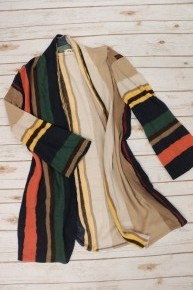 The Way I See It Striped Super Soft Cardigan In Multicolor - Sizes 4-10