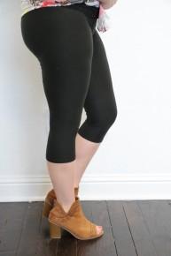 The Paige Super Soft Lined Capri Leggings ~ Multiple Colors ~ Sizes 4-12