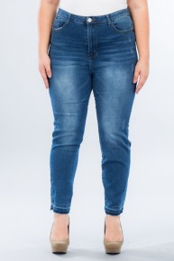 The Janell Dark Denim Jeans - Sizes 12-20