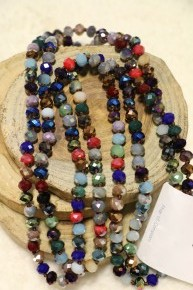 Point Of Perfection Beaded Necklace in Sleepy Hollow
