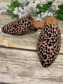 Sam's Favorite Leopard Mules - Sizes 6-10