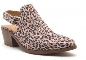 She's A Wild One Leopard Bootie