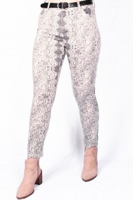 Snakeskin Jeggings - Sizes 4-20