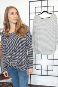 Hats Off To You Boat Neck Striped Top - Multiple Colors - Sizes 4-12