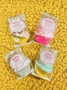 Sweet Treat Sprinkle Cupcake Bath Bombs in Multiple Scents