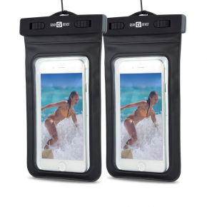 Waterproof Cell Phone Dry Bag in Multiple Colors