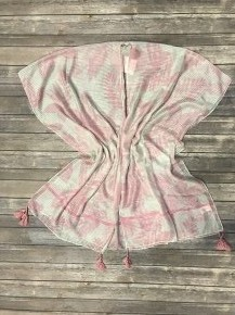 Summer Breeze Lightweight Kimono with Tassels in Multiple Colors - One Size Fits Most 4-20
