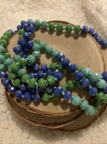 Point Of Perfection Beaded Necklace In Globe