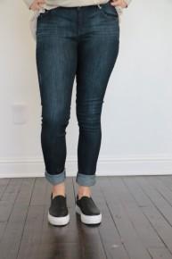 Here She Comes Dark Wash Denim Jeans ~ Sizes 5-15