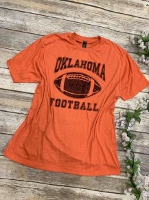 Oklahoma Football Graphic Tee -Multiple Colors- Sizes 4-20