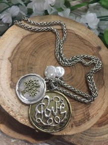 Let Love Grow Tree Charm Necklace