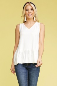 Enjoy The Sunshine Sleeveless Top in Multiple Colors - Sizes 4-20