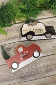 Holiday Truck Decor In Multiple Colors