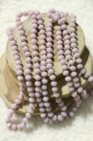 Point Of Perfection Beaded Necklace in Wisteria