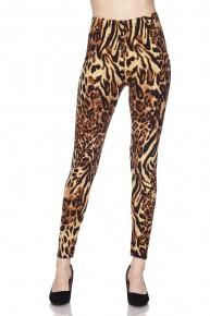 Lazy Days In Leopard Leggings - Size 12-20