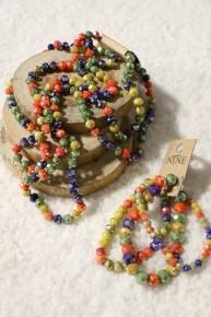 Tiki Party Point Of Perfection Bundle & 3 Strand Beaded Bracelet