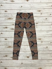 One More Time Multi Print Full Length Leggings