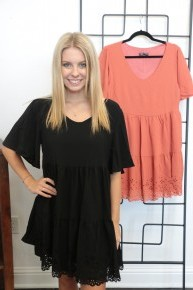 Best Of The Best Baby Doll Dress In Multiple Colors Sizes 4-12