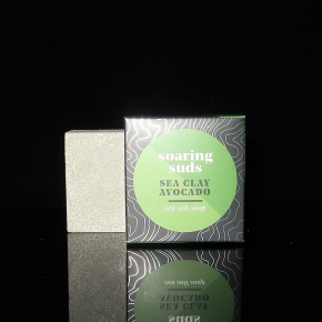Facial Cleansing Sea Salt Soap in Multiple Scents *Final Sale*