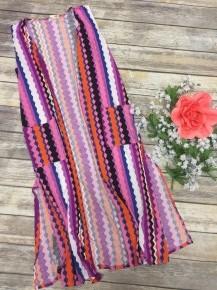 Dream a Little Dream Colorful Striped Kimono Vest - Sizes 4-20