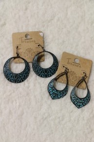 My Best Life Patina Earrings In Multiple Shapes