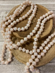 Point Of Perfection Beaded Necklace In Love Note