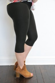 The Paige Super Soft Capri Leggings ~ Multiple Colors ~ Sizes 12-20