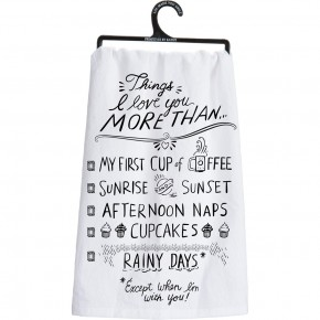 Decorative  Oven Towel In Multiple Quotes