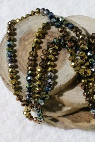 Point Of Perfection Beaded Necklace In Family Falltime