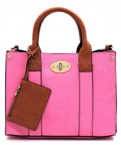 Clutch It To Ya Handbag In Hot Pink