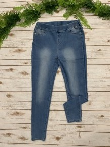 The Jasper Light Denim Jeggings - Sizes 12-20