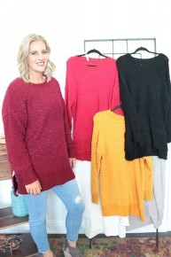Give You My Love Popcorn Tunic -Multiple Colors - Sizes 12-20