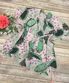 Ready for the Tropics Kimono in Blush