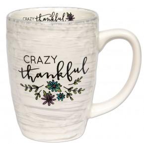 Crazy Thankful Mug
