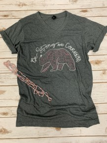 Be Strong & Courageous November 2019 Graphic Tee of the Month - Sizes 4-20