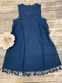 Everything I've Got Sleeveless Trapeze Dress - Sizes 4-10