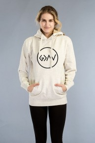 God Is Greater Than the Highs & the Lows Hoodie in Ivory - Sizes 4-20