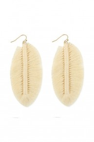 Falling For You Threaded Earrings In Multiple Colors
