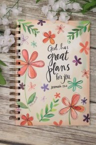 God Has Great Plans For You Journal