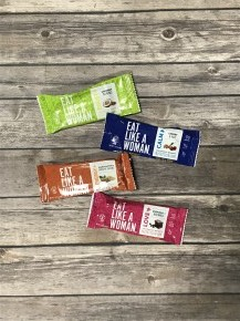 Eat Like a Woman Nutrition Bar in Multiple Flavors - Sets of 4 *Final Sale*