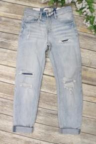 The Kara Light Denim Distressed Jeans
