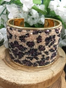 Go Wild Leopard Cuff Bracelet