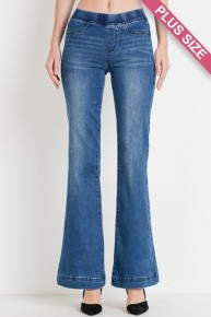 The Kincaid Denim Bell Bottoms - Multiple Colors -Sizes 12-20