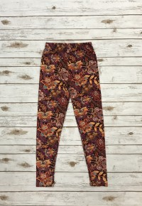 Walk With Me Floral Full Length Leggings